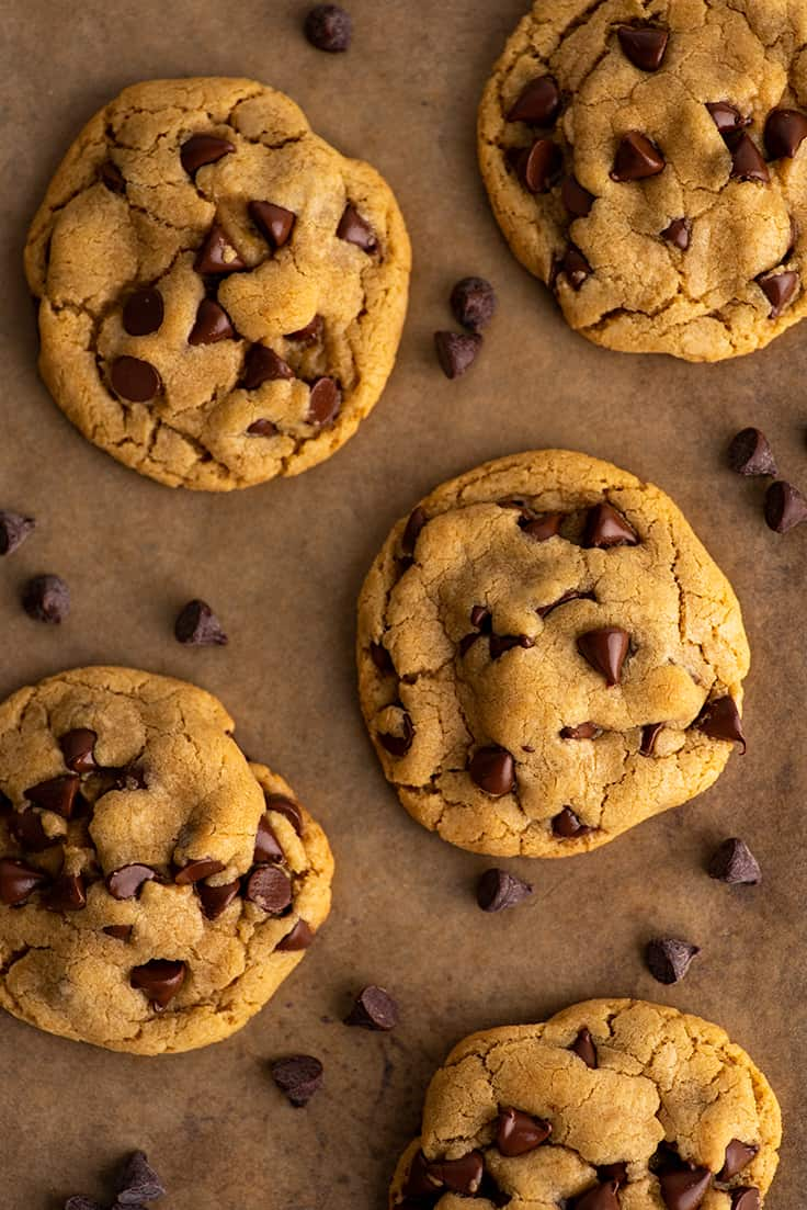 No Chill Small Batch Chocolate Chip Cookies Baking Mischief