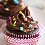 Small-batch Chocolate Cupcakes with Chocolate Buttercream