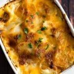 Cheesy Potato Gratin for Two