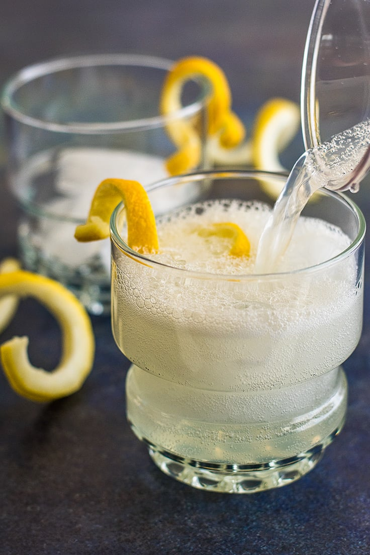 You can make Homemade Hard Lemonade for Two with just a few simple ingredients and a couple of minutes.
