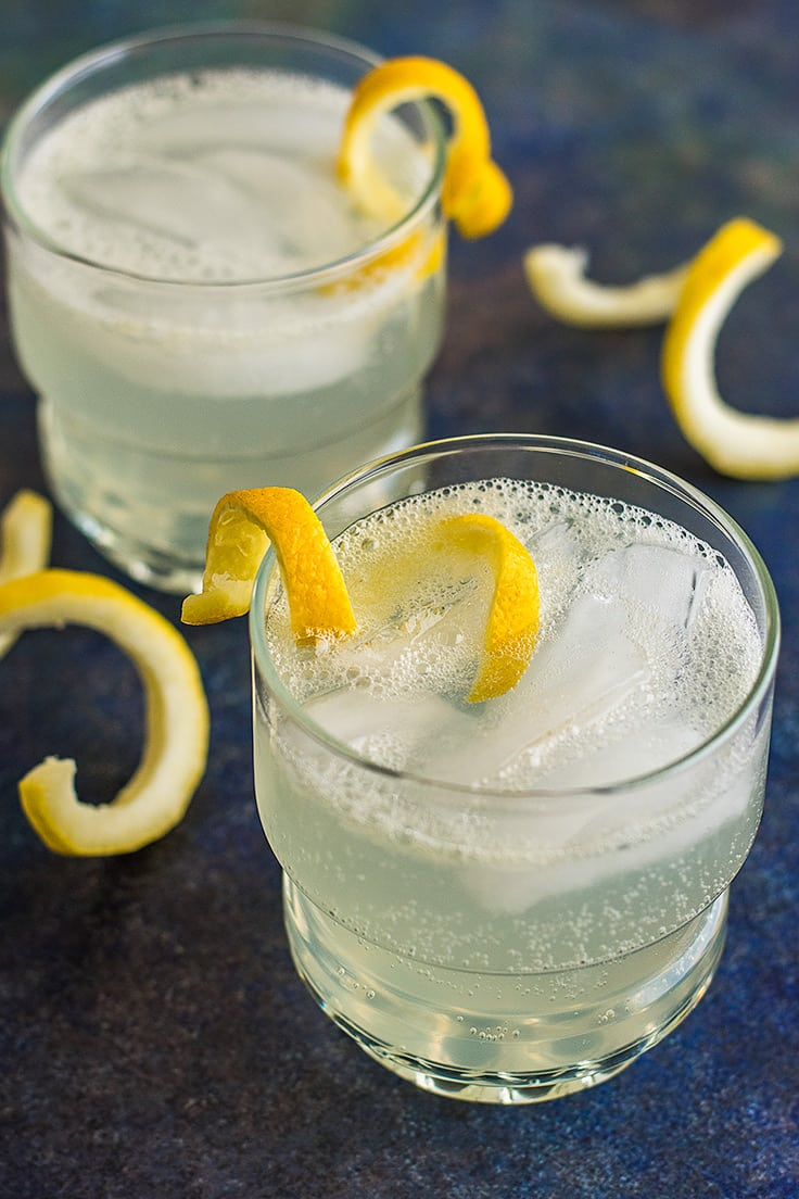 This Homemade Hard Lemonade for Two is everything great about summer lemonade, tart, sweet, refreshing, but with the added kick of vodka.