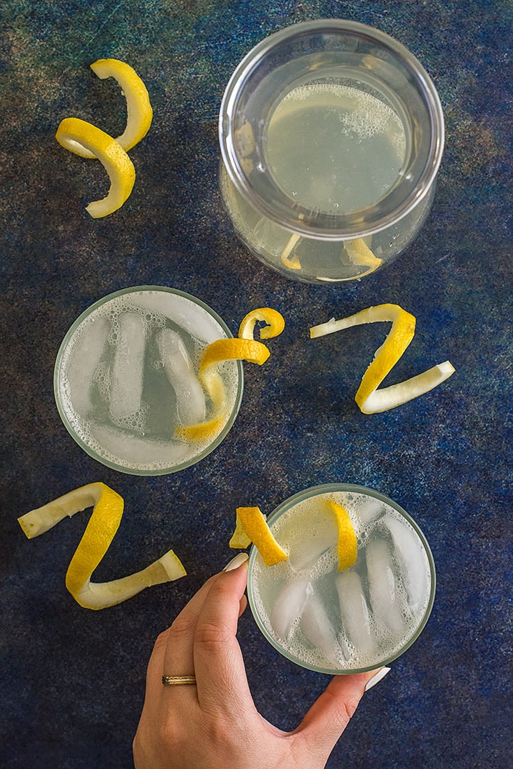 If you're looking something refreshing this summer with a little extra kick, give this Homemade Hard Lemonade for Two a try!
