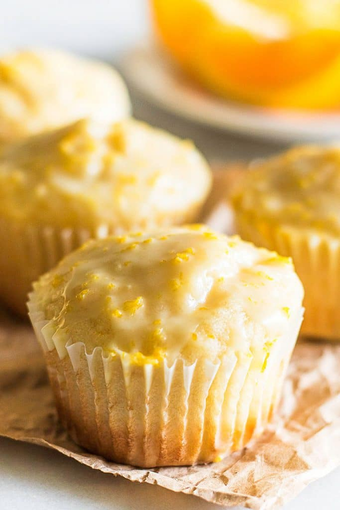 Need to brighten your day? Make a batch of these Small-batch Orange Muffins!