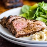Making Tri-tip in the oven is SO easy and delicious and a total crowd-pleaser.   #EasyDinner   #Dinner   #Tritip  