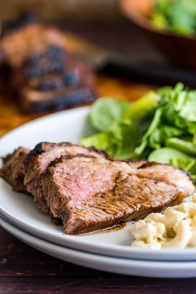 Oven-baked Tri-tip is fabulous on sandwiches or just sliced with a salad on the side. #EasyDinner | #Dinner | #Tritip |