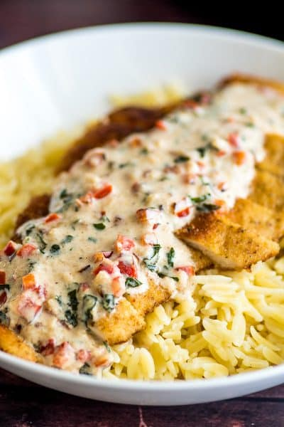 Easy Chicken in Cream Sauce for Two