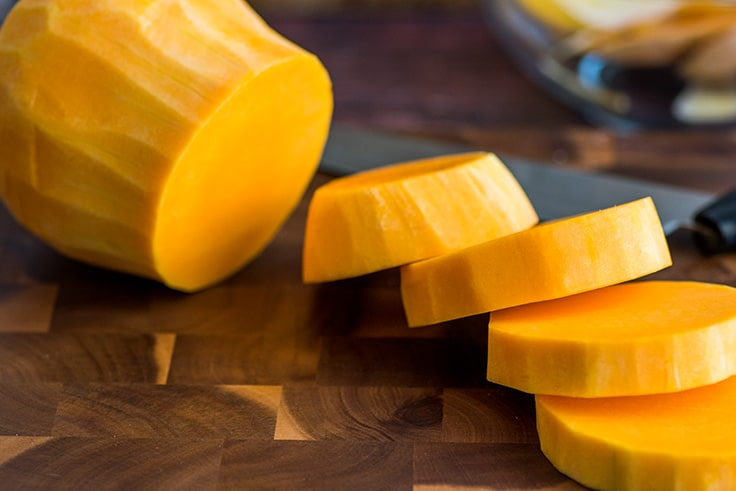 How to Cut Butternut Squash Step 4