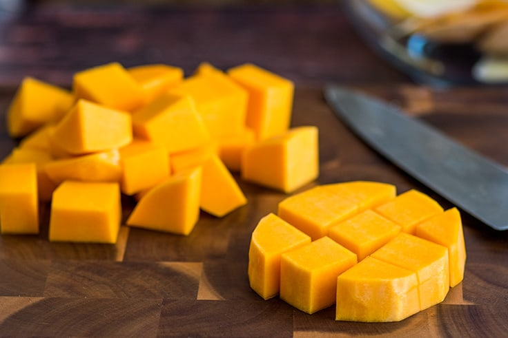 How to Cut Butternut Squash Step 5