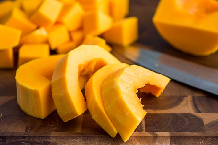 How to Cut Butternut Squash Step 7