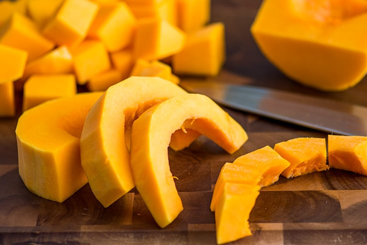How to Cut Butternut Squash Step 8