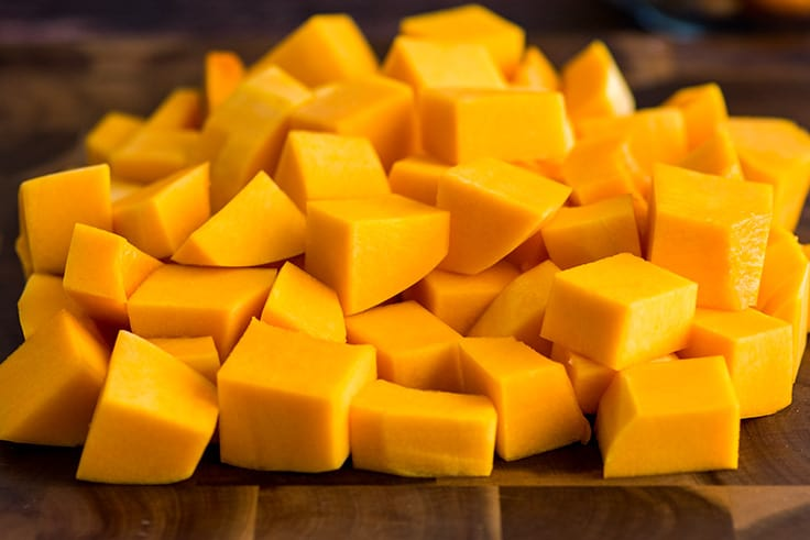 How to Cut Butternut Squash Step 9
