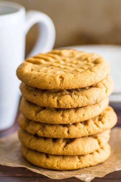 Small-batch Peanut Butter Cookies
