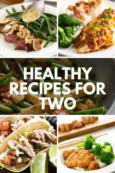 Easy Healthy Recipes for Two