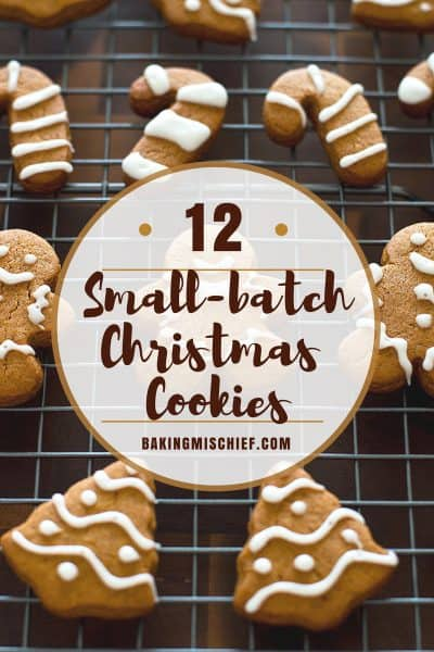 Twelve Days of Small-batch Christmas Cookies