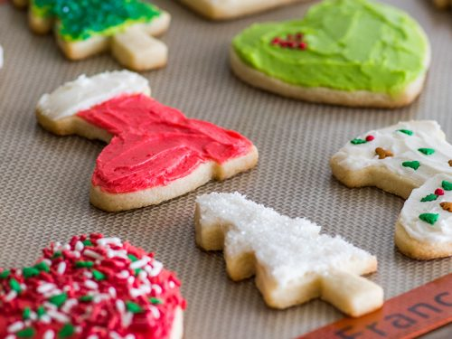 Small Batch Of Cut Out Sugar Cookies No Chill