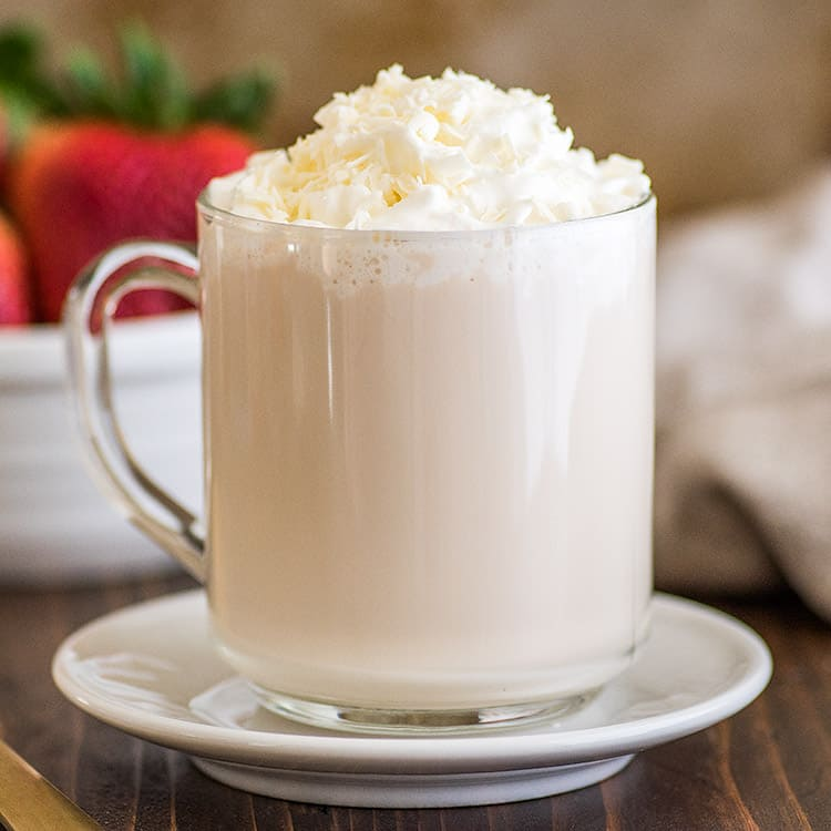 Hot White Chocolate Mocha