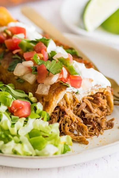 Carnitas Enchiladas