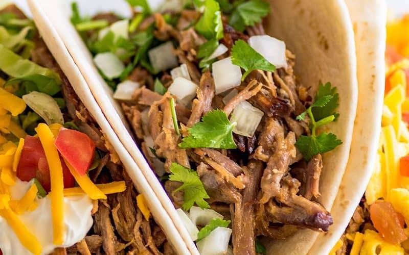 Carnitas Tacos (Pork Tacos), Three Ways