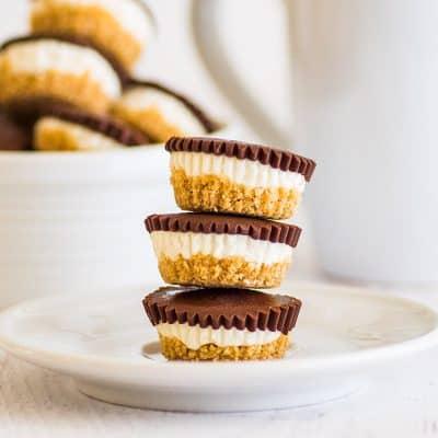 No-bake Cheesecake Bites With Graham Cracker Crust