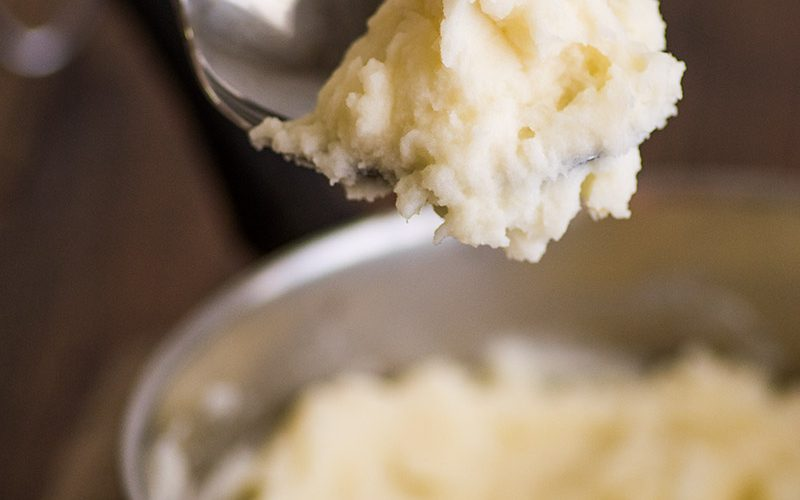Mashed Potatoes for Two