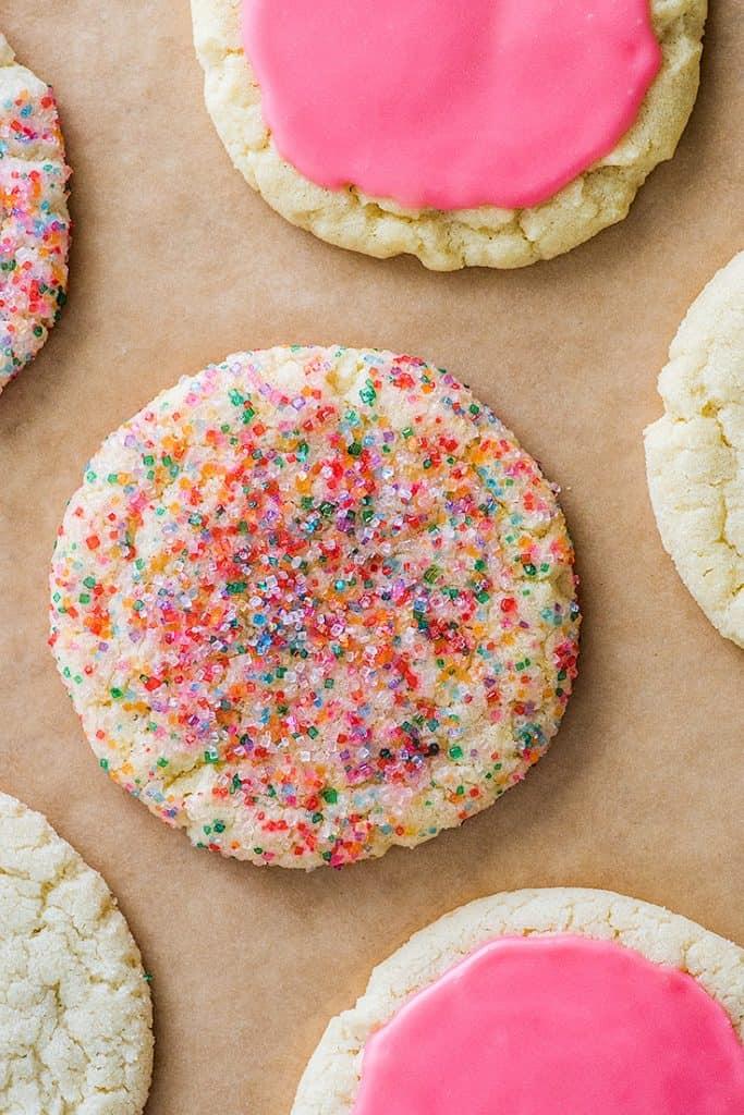 One Bowl Small Batch Sugar Cookies 3 Ways Baking Mischief