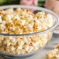 Brown Sugar Kettle Corn is kettle corn's slightly more fun and mature sibling. Salty, sweet, and just a bit caramelly, it's perfect for movie night or an afternoon snack.
