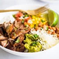 Carnitas Burrito Bowls