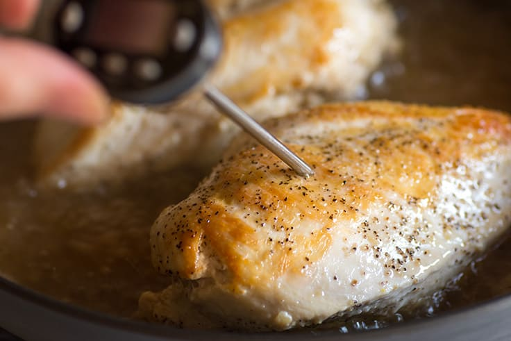 How to make the very best chicken breasts to use in recipes. Step 3. | #chicken | #chickenbreast | #bonelessskinlesschickenbreast |