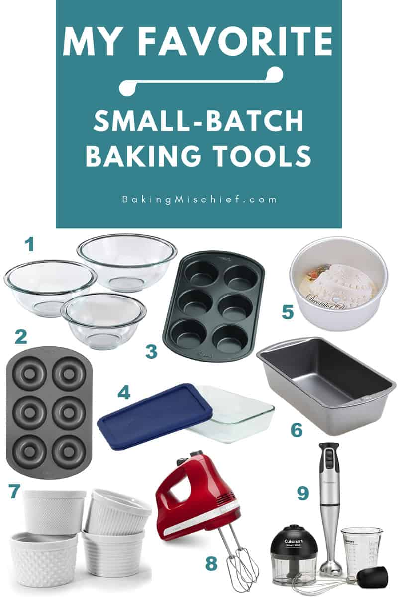 My Favorite Small Batch Baking Tools
