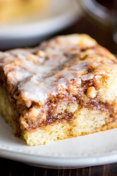 Small Apple Cinnamon Cake