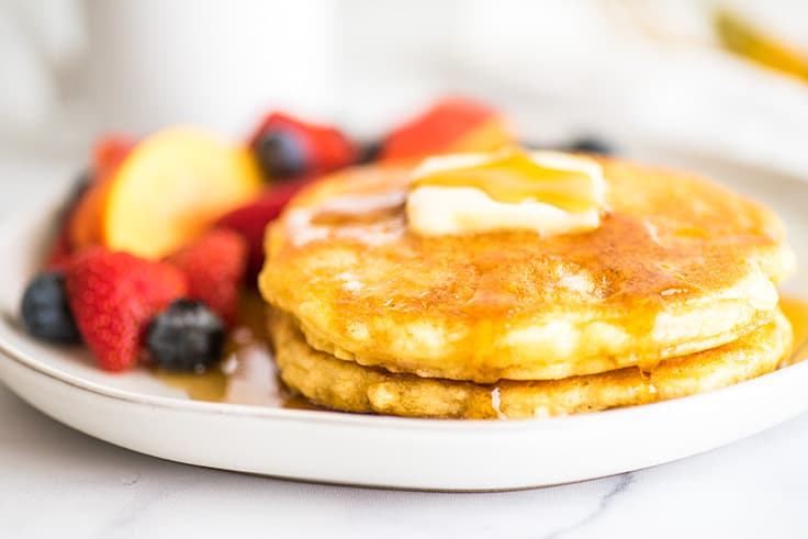 Quick And Easy Pancakes For One Baking Mischief