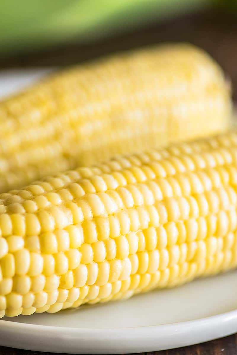 Microwave Corn On The Cob Baking Mischief