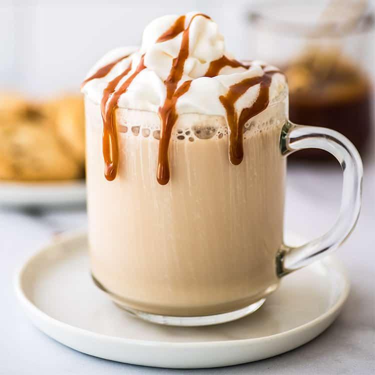 Easy Caramel Latte Baking Mischief