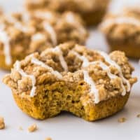 Pumpkin Donuts With Streusel