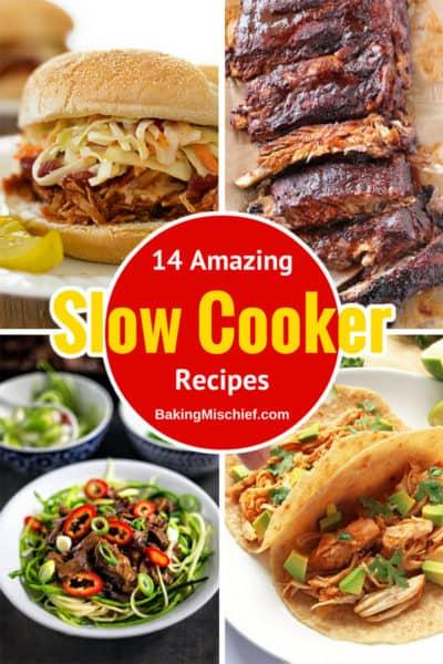 14+ Amazing Slow Cooker Recipes