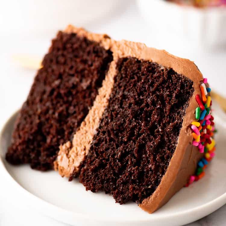 Small Chocolate Cake Baking Mischief
