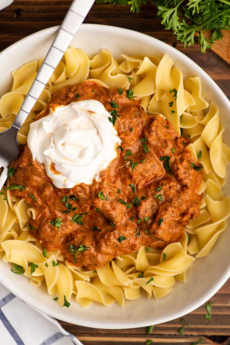 Easy Hungarian Goulash Baking Mischief