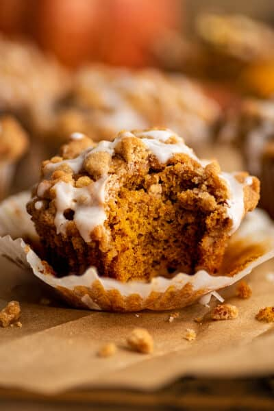 Small-batch Pumpkin Streusel Muffins