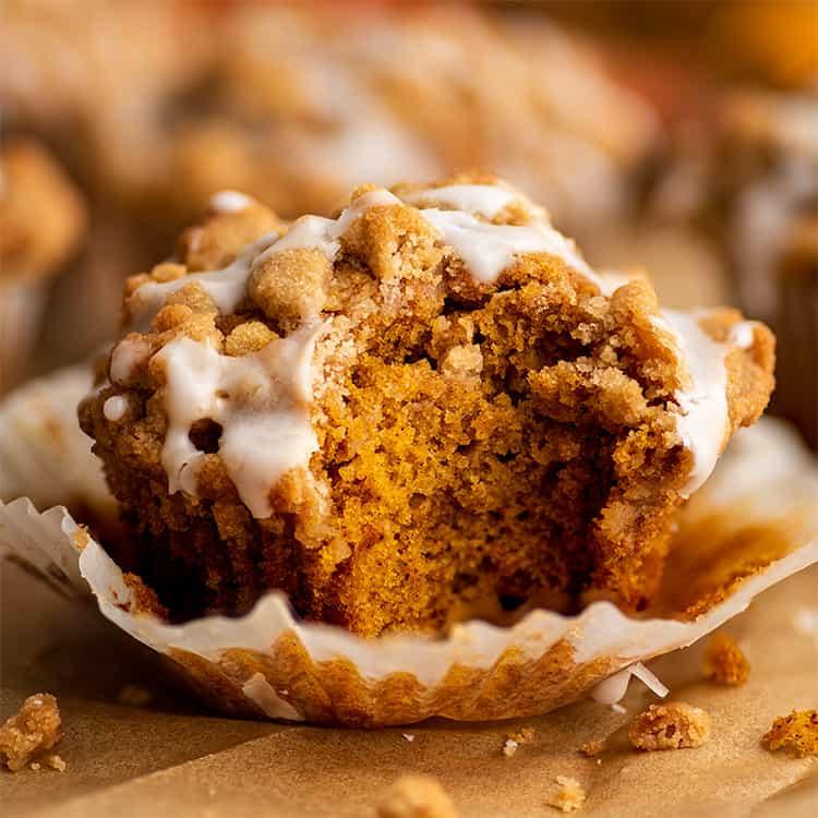 Small Batch Pumpkin Streusel Muffins Baking Mischief