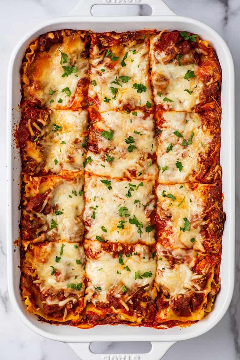 Easy Lasagna Recipe Baking Mischief