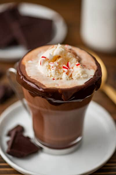 Dreamy Hot Chocolate Float