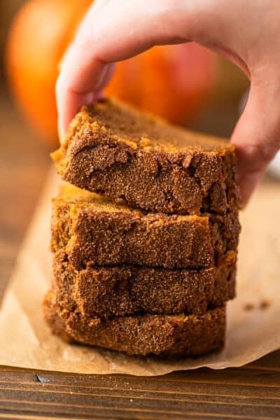 Mini Pumpkin Bread